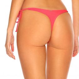 Melónovo ružové šnurovacie tanga plavky RELLECIGA
