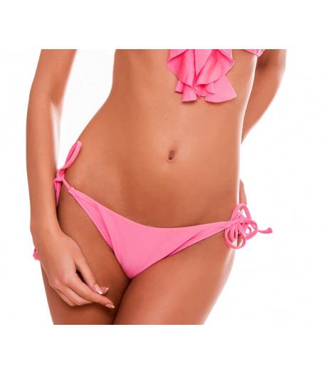 Ružové plavky so šnurovaním RELLECIGA Ruffle | Spodný diel | OUTLET