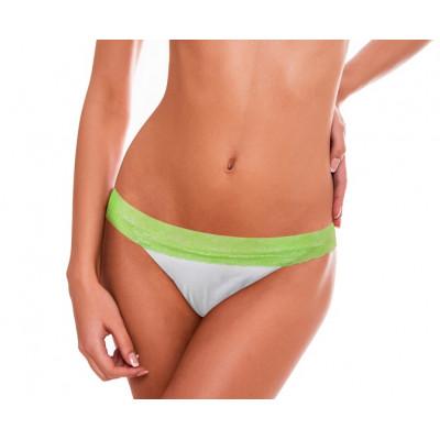 Bielo-zelené čipkované plavky RELLECIGA Lace | Spodný diel | OUTLET