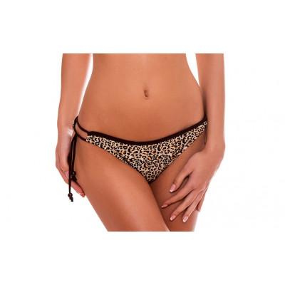 Luxusné leopardie kamienkové plavkové nohavičky RELLECIGA | OUTLET