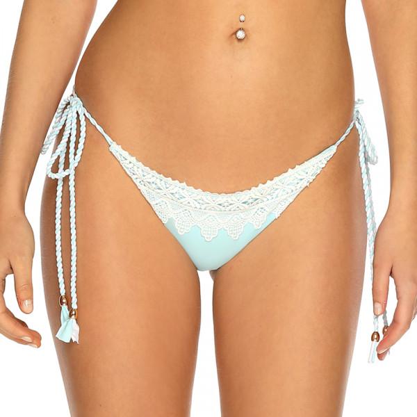 Pastelovo modré háčkované plavky RELLECIGA Crochet Lace