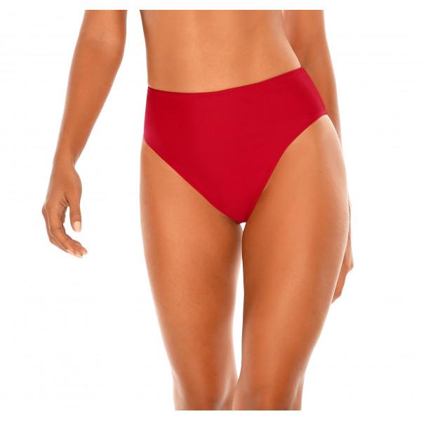 Červené plavky s vysokým pásom RELLECIGA