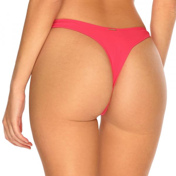 Melónovo ružové high-waist tanga plavky RELLECIGA