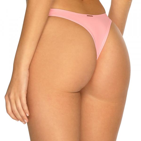 Pastelovo ružové high-waist tanga plavky RELLECIGA Pastels l Bepon