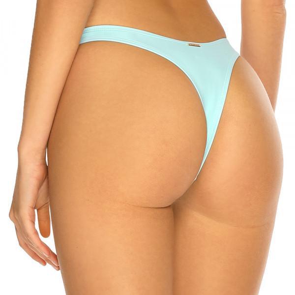 Pastelovo modré high-waist tanga plavky RELLECIGA Pastels