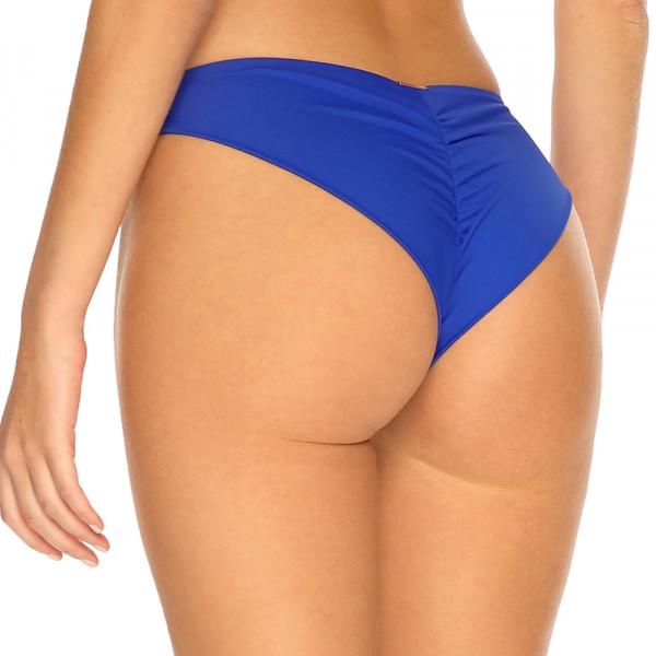 Kráľovsky modré brazilkové plavky s riasením RELLECIGA Royal Blue