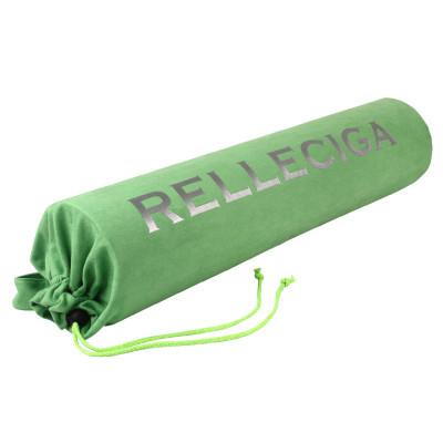 Zelený semišový obal na podložku Relleciga