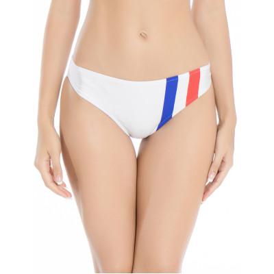 Biele športové plavky - retro spodný diel RELLECIGA Paris Morning