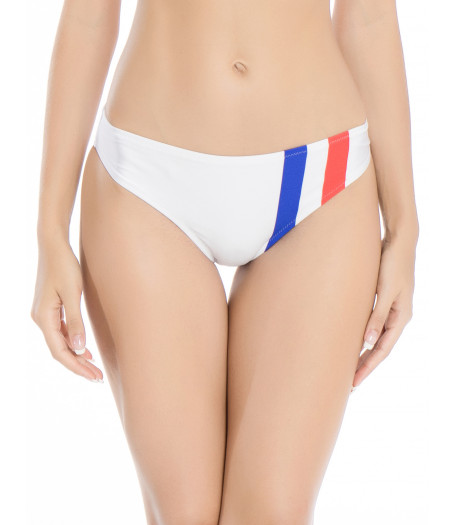 Biele športové plavky - retro spodný diel RELLECIGA Paris Morning | OUTLET