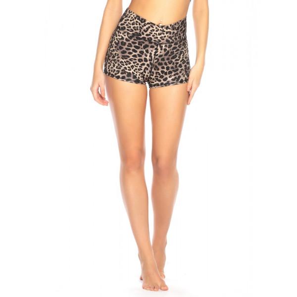 Leopard dámske športové šortky RELLECIGA SPORTS
