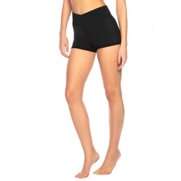 Čierne dámske športové šortky RELLECIGA SPORTS